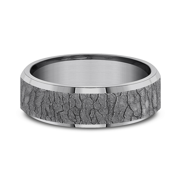 Tantalum Comfort-fit wedding band Image 3 Lake Oswego Jewelers Lake Oswego, OR