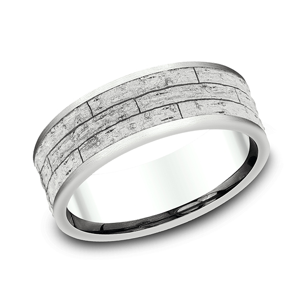 Comfort-Fit Design Wedding Band Holly McHone Jewelers Astoria, OR