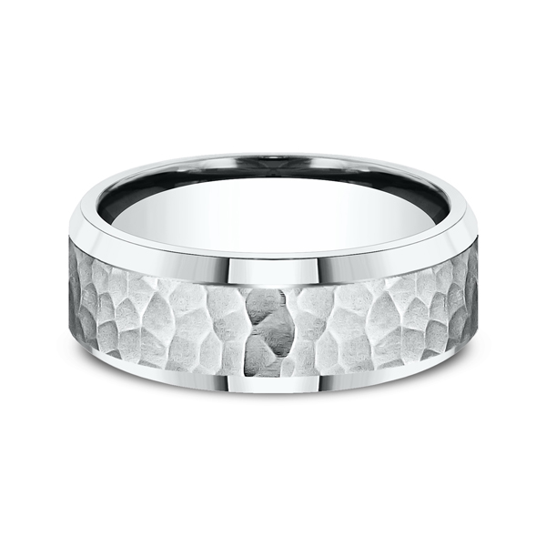 Comfort-Fit Design Wedding Ring Image 3  ,