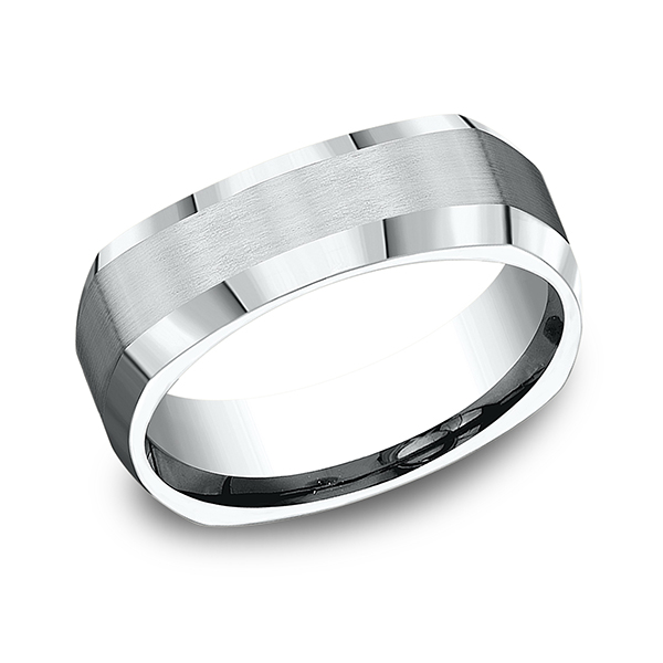 Comfort-Fit Design Wedding Band Timmreck & McNicol Jewelers McMinnville, OR