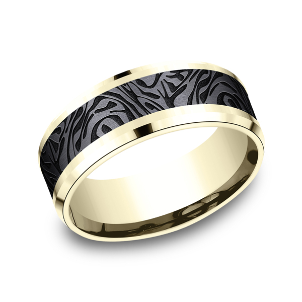 Ammara Stone Comfort-fit Design Ring by Ammara Stone