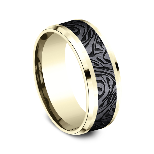 Ammara Stone Comfort-fit Design Ring Image 2  ,
