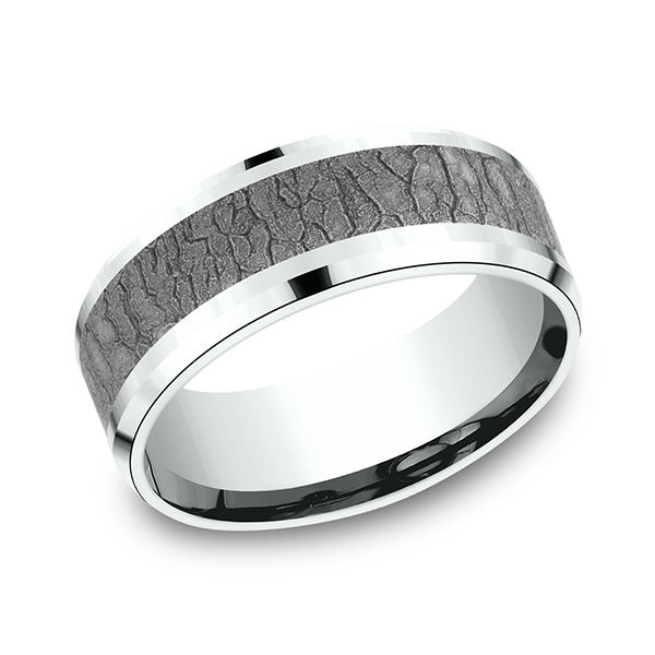 Ammara Stone Comfort-fit Design Ring Rick's Jewelers California, MD