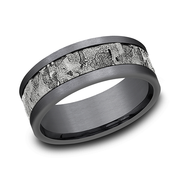 Ammara Stone Comfort-fit Design Wedding Band Confer's Jewelers Bellefonte, PA
