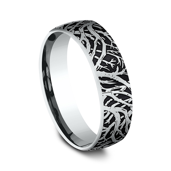 Comfort-Fit Design Wedding Band Image 2 Confer's Jewelers Bellefonte, PA