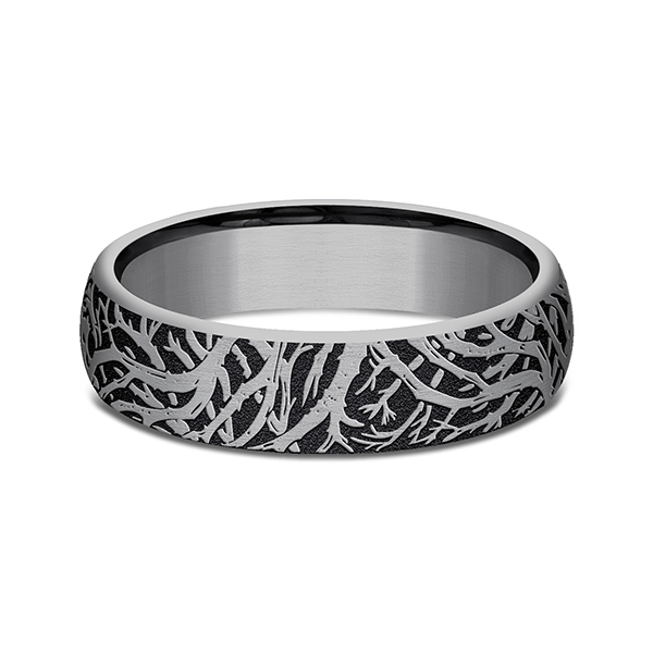 Tantalum Comfort-fit wedding band Image 3 Simones Jewelry, LLC Shrewsbury, NJ