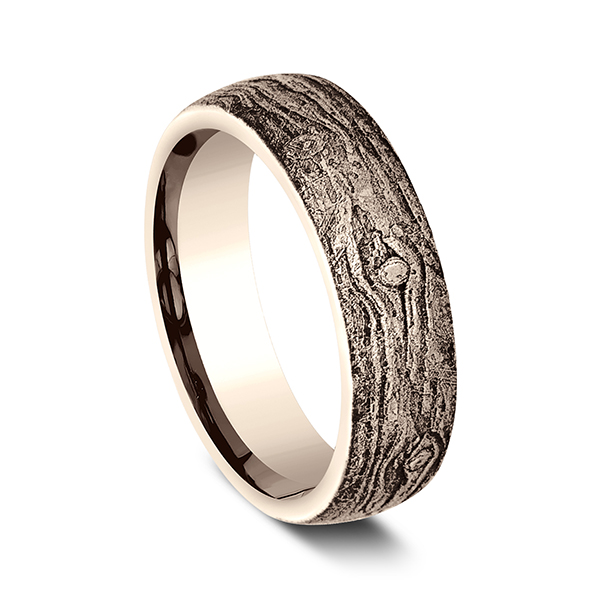 Comfort-Fit Design Wedding Band Image 2 Carter's Jewelry, Inc. Petal, MS