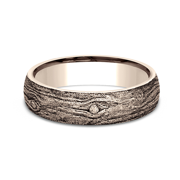 Comfort-Fit Design Wedding Band Image 3 Carter's Jewelry, Inc. Petal, MS