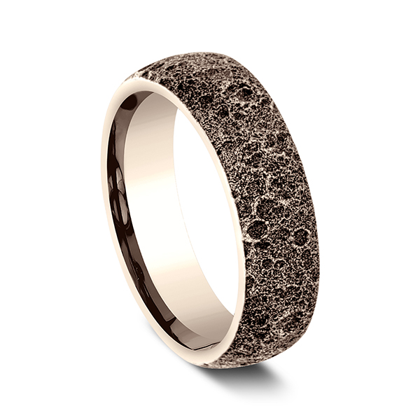 Comfort-Fit Design Wedding Band Image 2 H. Brandt Jewelers Natick, MA