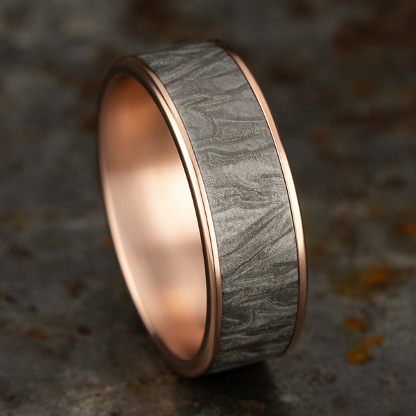 Ammara Stone Comfort-fit Design Wedding Band Image 4 Holliday Jewelry Klamath Falls, OR