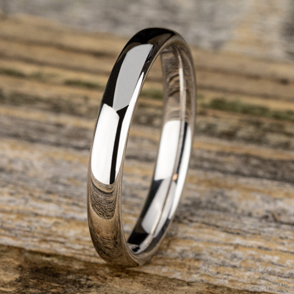 European Comfort-Fit Wedding Ring Image 4 Confer's Jewelers Bellefonte, PA