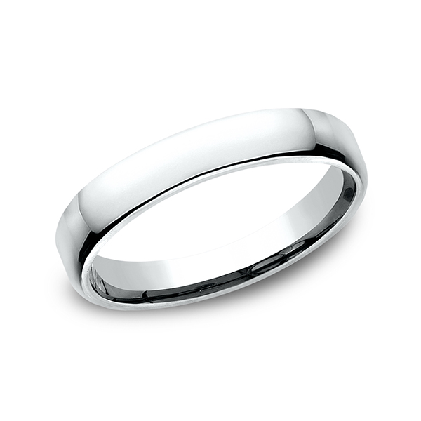 European Comfort-Fit Wedding Ring by Benchmark