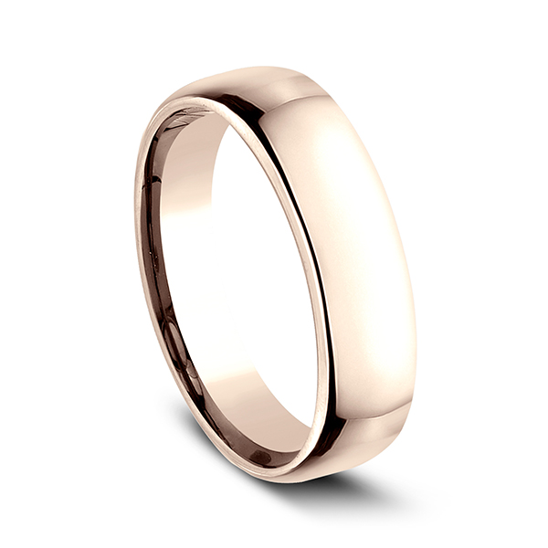 European Comfort-Fit Wedding Ring Image 2 Geoffreys Diamonds & Goldsmith San Carlos, CA