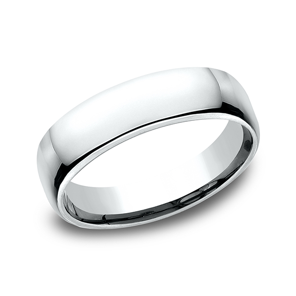 Men's Wedding Bands - European Comfort-Fit Ring