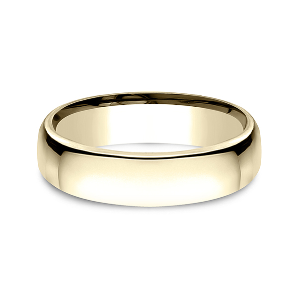 European Comfort-Fit Wedding Ring Image 3 Confer's Jewelers Bellefonte, PA