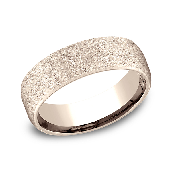 Comfort-Fit Design Wedding Band Geoffreys Diamonds & Goldsmith San Carlos, CA