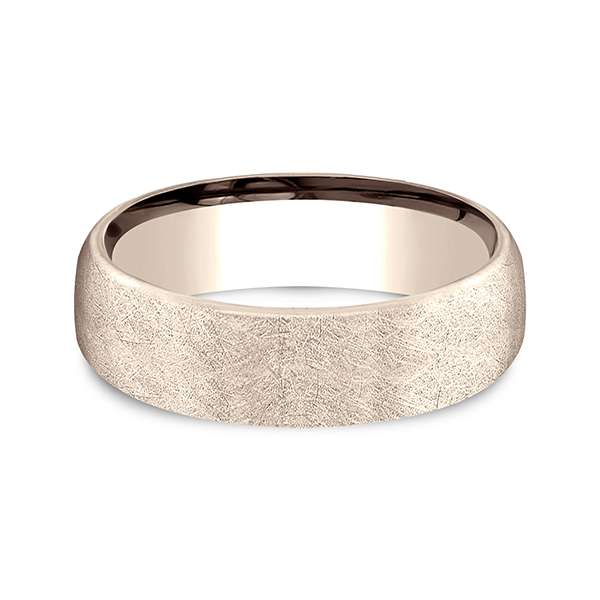 Comfort-Fit Design Wedding Band Image 3 Rialto Jewelry San Antonio, TX