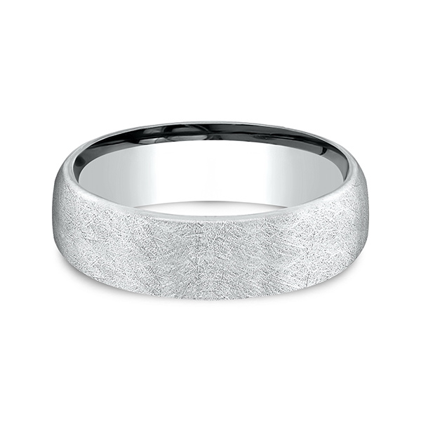 Comfort-Fit Design Wedding Band Image 3 Holly McHone Jewelers Astoria, OR