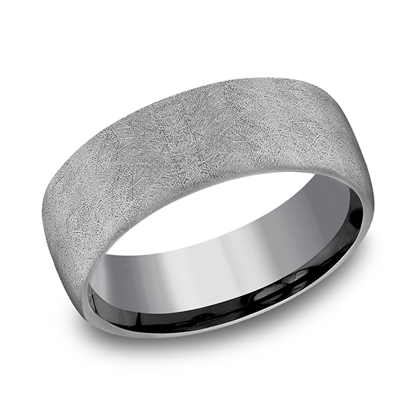 Tantalum Comfort-fit wedding band Confer's Jewelers Bellefonte, PA