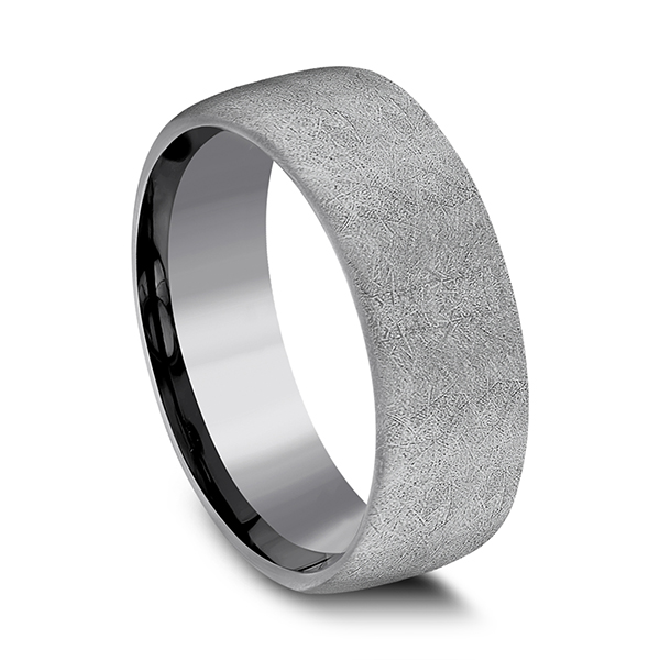 Men's Wedding Bands - Tantalum Comfort-fit wedding band - image 2