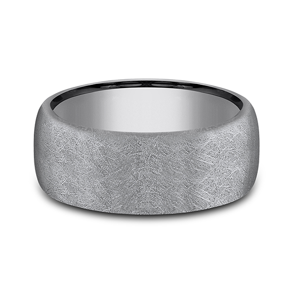 Men's Wedding Bands - Tantalum Comfort-fit wedding band - image #3