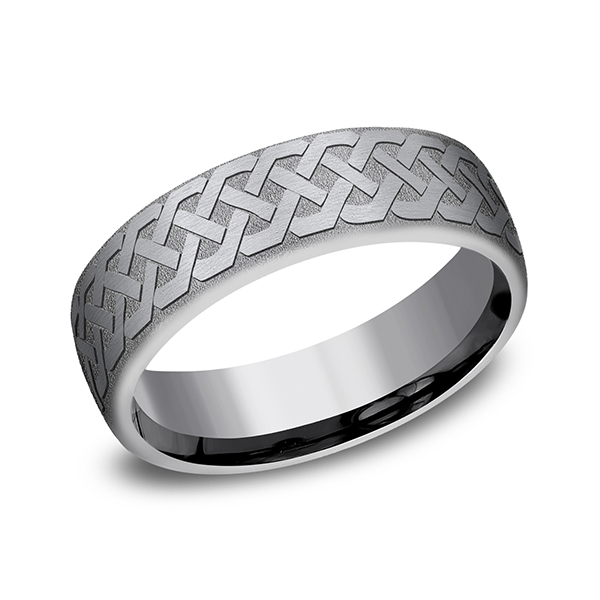 Tantalum Comfort-fit wedding band Ross's Rings & Things Kilmarnock, VA