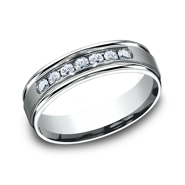 Comfort-Fit Diamond Wedding Ring Timmreck & McNicol Jewelers McMinnville, OR