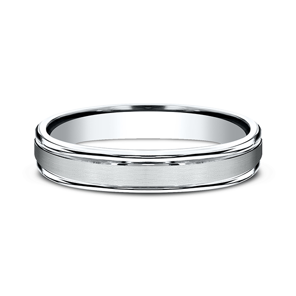Comfort-Fit Design Wedding Band Image 3 Geoffreys Diamonds & Goldsmith San Carlos, CA