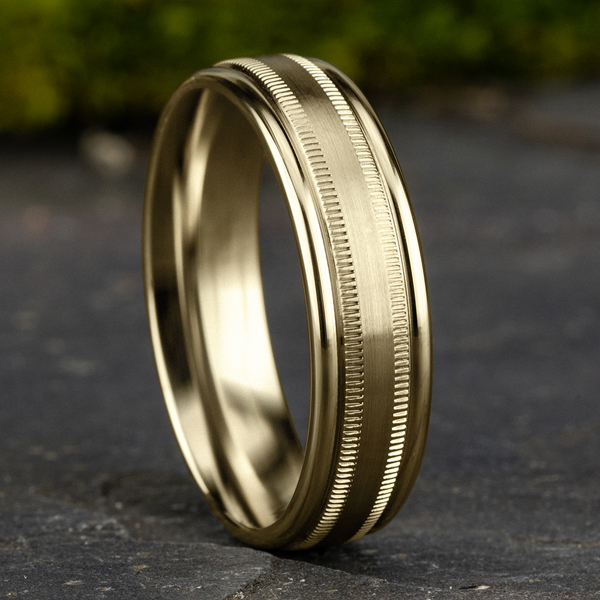 Comfort-Fit Design Wedding Band Image 4 Confer's Jewelers Bellefonte, PA