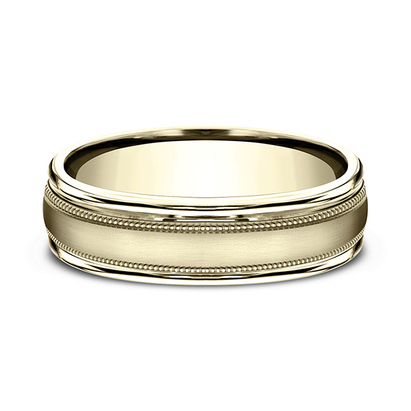Comfort-Fit Design Wedding Band Image 3 Confer's Jewelers Bellefonte, PA