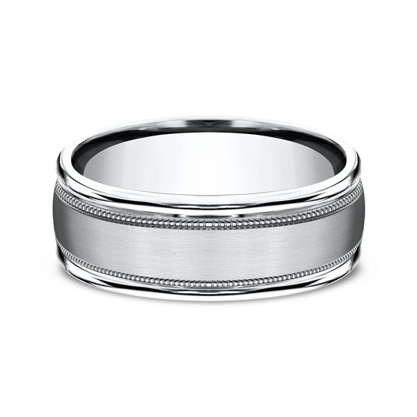 Comfort-Fit Design Wedding Ring Image 3 Geoffreys Diamonds & Goldsmith San Carlos, CA