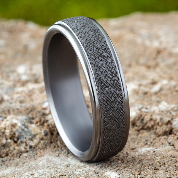 Tantalum Comfort-fit wedding band Image 4  ,