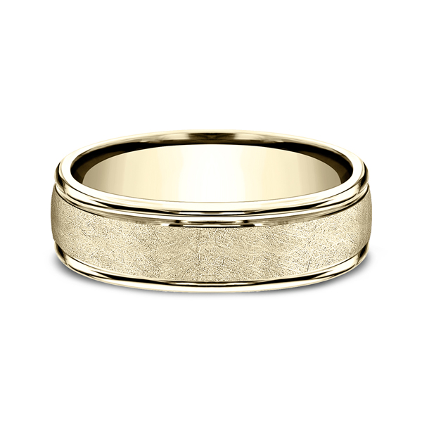 Comfort-Fit Design Wedding Ring Image 3 Confer's Jewelers Bellefonte, PA