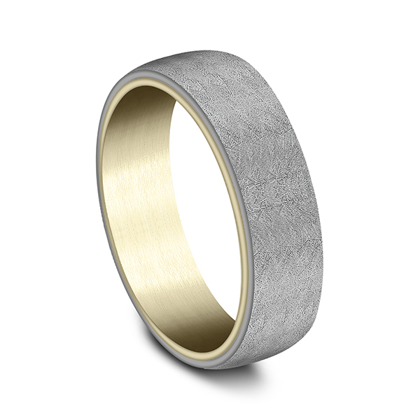 Ammara Stone Comfort-fit Design Wedding Ring Image 2 Confer's Jewelers Bellefonte, PA