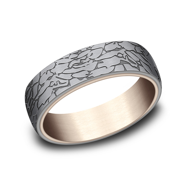 Ammara Stone Comfort-fit Design Wedding Ring Heller Jewelers San Ramon, CA