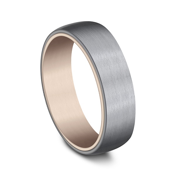 Gold/platinum/palladium Wedding Bands - Ammara Stone Comfort-fit Design Wedding Ring - image #2