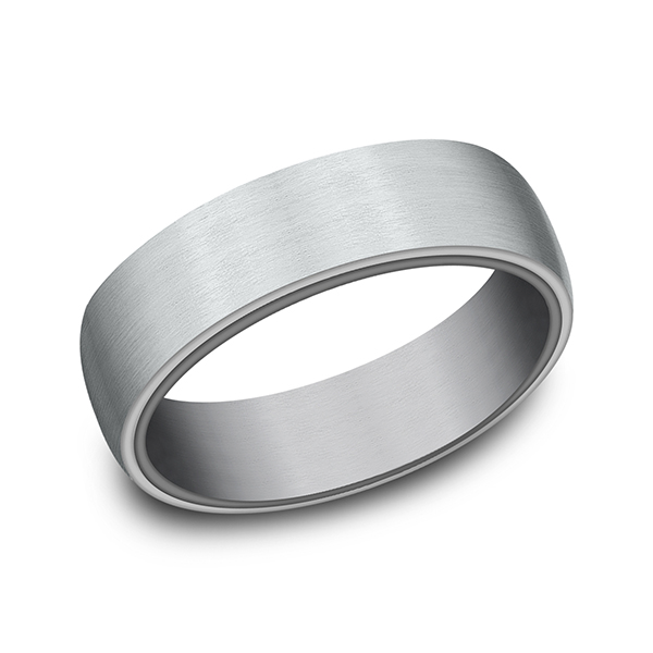 Gold/platinum/palladium Wedding Bands - Ammara Stone Comfort-fit Design Wedding Ring