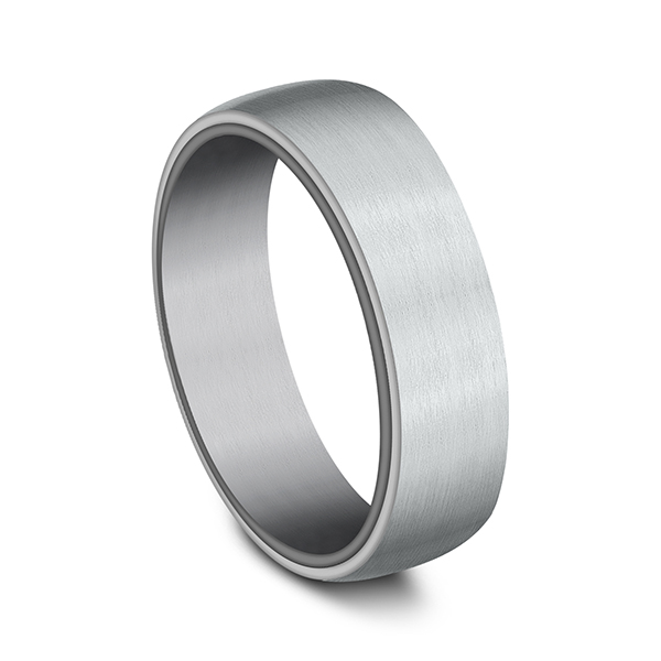 Ammara Stone Comfort-fit Design Wedding Ring Image 2 Heller Jewelers San Ramon, CA