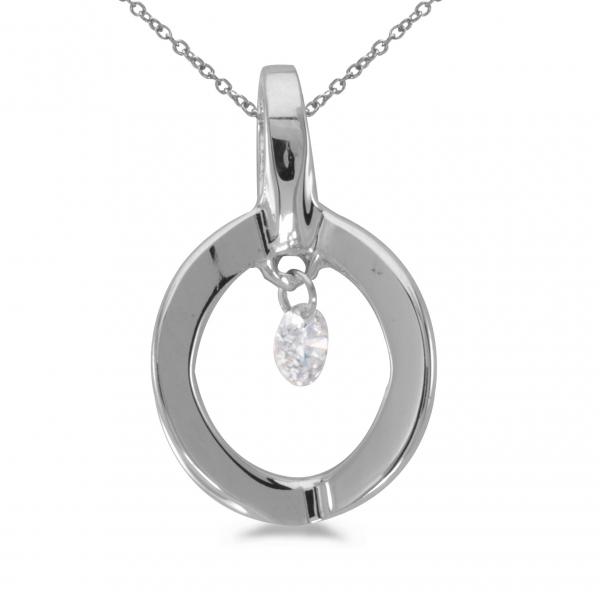 14k white gold dashing diamonds pendant p8824w karen 39 s. Black Bedroom Furniture Sets. Home Design Ideas