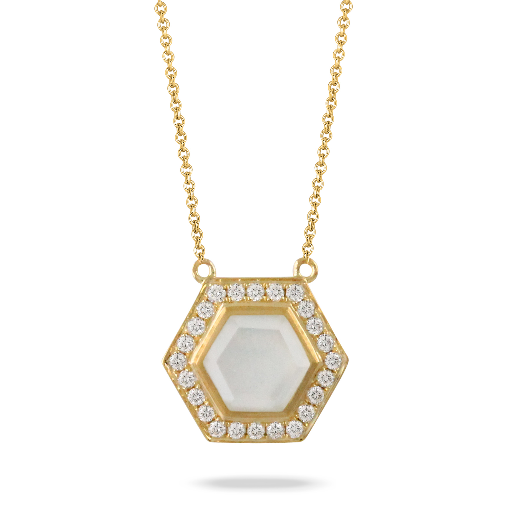 18K YELLOW GOLD NECKLACE by Dove