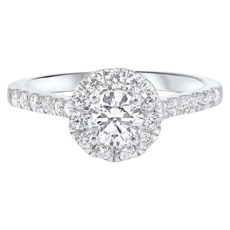 14K White Gold Cash&Carry Split Prong Diamond Ring (1 ct. tw.) Moseley Diamond Showcase Inc Columbia, SC