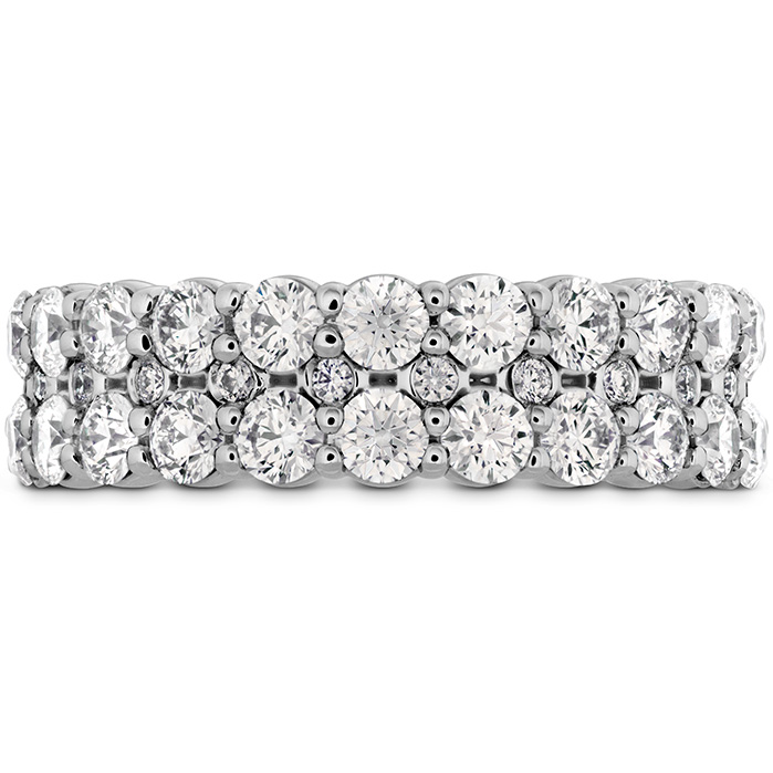 Rings - 1.8 ctw. HOF Classic Double Row Band in Platinum