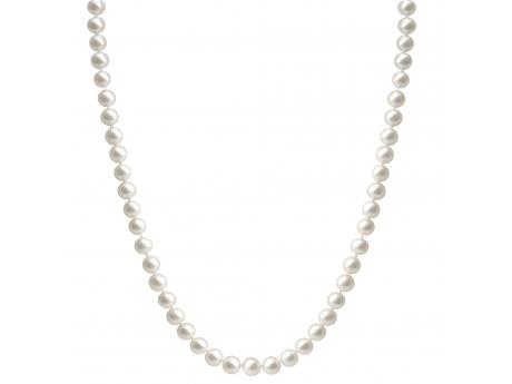 "14KY 18"" 6-6.5MM ""A"" quality Freshwater cultured pearl strands with a 14kt yellow or white gold clasp.  Strands have semi round cultured pearls, medium luster, creamy/rose color, and a few surface flaws.  Available with a 14 KT Yellow or White Gold Clasp."
