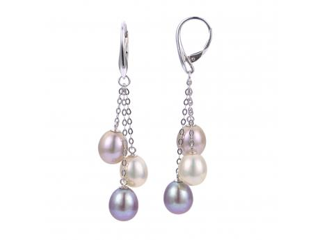Sterling Silver Freshwater Pearl Earrings Karen's Jewelers Oak Ridge, TN