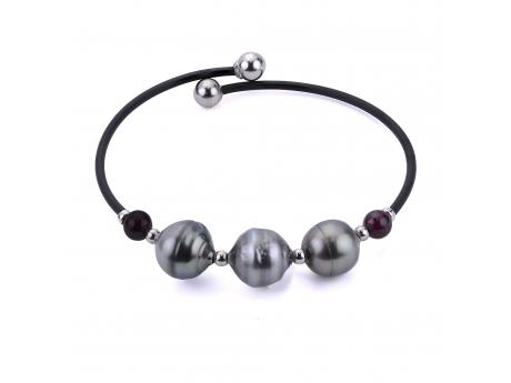 Sterling Silver Tahitian Pearl Bracelet Patterson's Diamond Center Mankato, MN