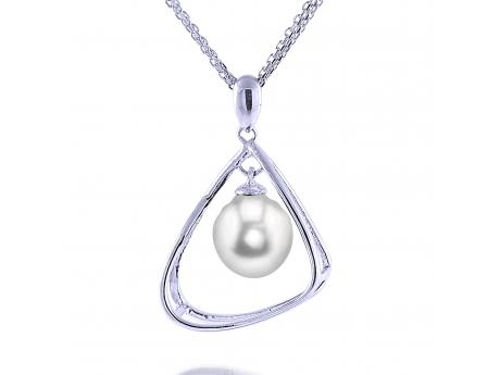Sterling Silver Freshwater Pearl Pendant Baker's Fine Jewelry Bryant, AR