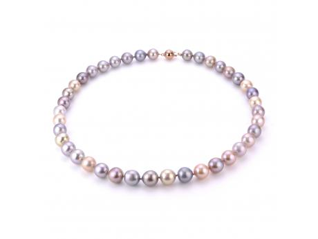 14K Rose Gold Freshwater Pearl Necklace Patterson's Diamond Center Mankato, MN