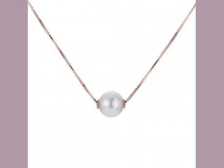 14K Rose Gold Akoya Pearl Necklace Bijoux Fine Jewelers Sulphur, LA