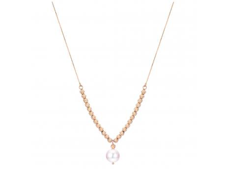 14K Yellow Gold Akoya Pearl Necklace by Imperial Pearls