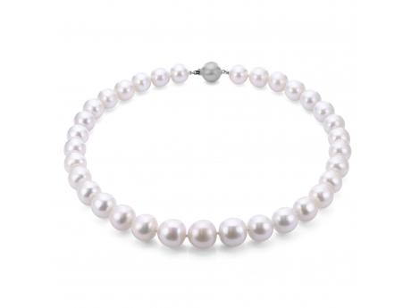 14K Rose Gold Freshwater Pearl Necklace by Imperial Pearls